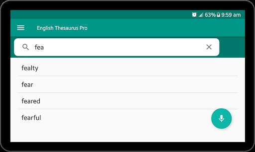 English Thesaurus 2.6 screenshots 11