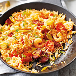Chorizo And Prawn Fried Rice
