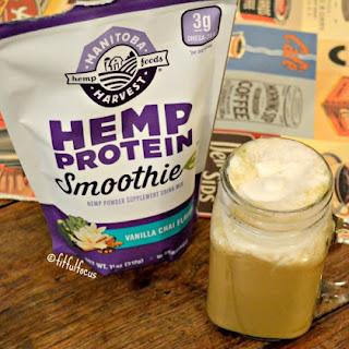 Protein Rich Vanilla Chai Latte {vegan, soy free, gluten free}.