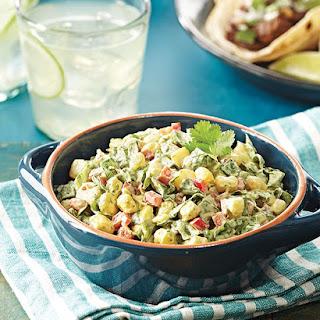Creamy Avocado Hominy Salad Recipe