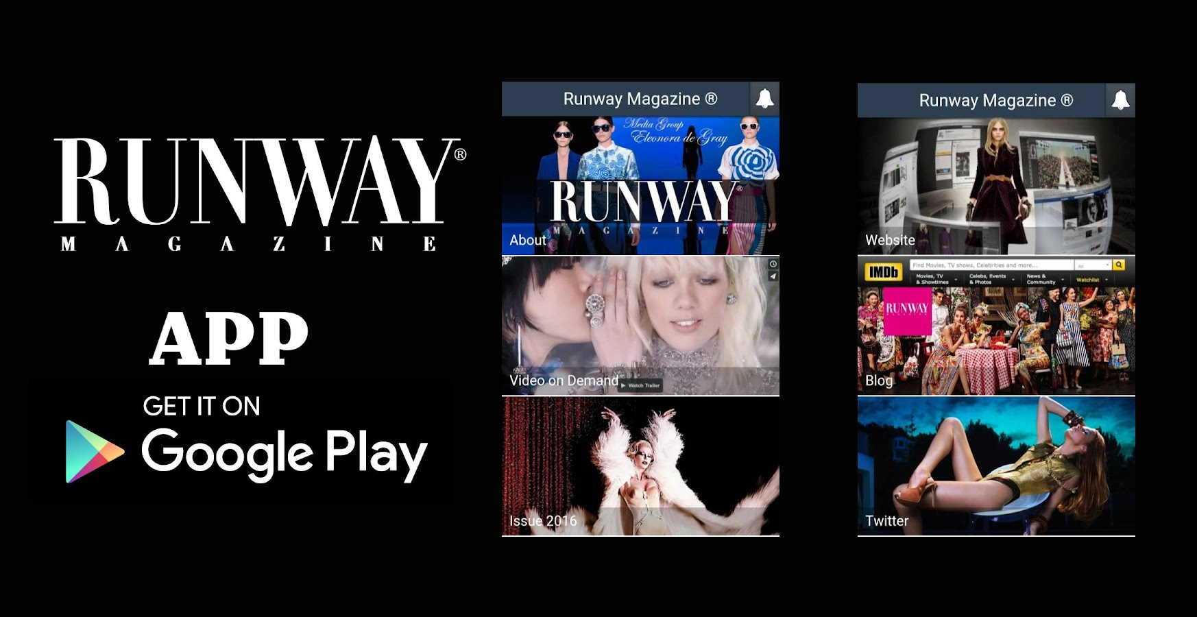 Runway Magazine ®- screenshot