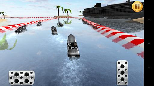 Motor Boat Fast Race 3D