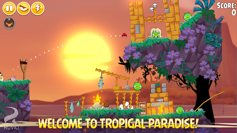 Angry Birds Seasons Screenshot 1