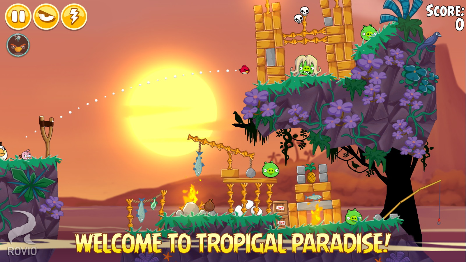 Angry Birds Seasons - screenshot
