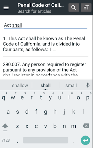 California Penal Code 0.14 screenshots 4