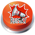 Among Us Report Button icon