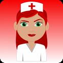 Nurse training icon