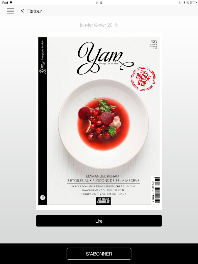YAM le magazine des chefs- screenshot