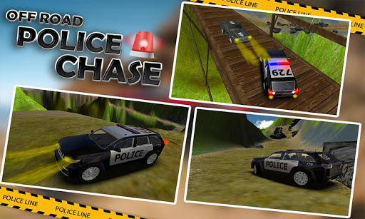 オフロード警察ジープチェイス