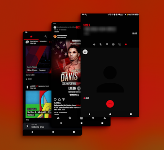 PitchBlack - Substratum Theme For Nougat/Oreo/Pie Screenshot