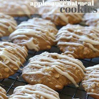 Iced Applesauce Oatmeal Cookies Recipe
