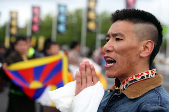 Photo: 11 May 2014 - Tibetans at Ahoy Rotterdam - photo by Jeppe Schilder