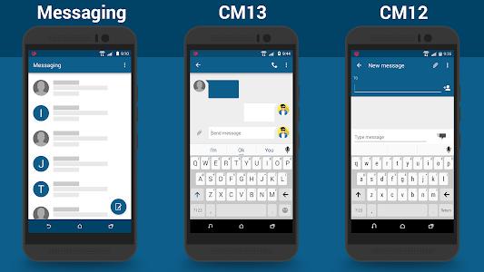 CM13/12.X SenseUI Themes v7.0.5