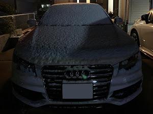 A7 スポーツバック 4GCGWCのカスタム事例画像 洗車マニアさんの2021年01月09日20:48の投稿