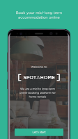 screenshot of Spotahome: Apartments & rooms for rent