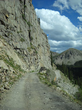 Photo: Palisades section of shelf road