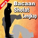 Bacaan Sholat Lengkap MP3 icon
