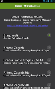 Radios FM Croatian Free - náhled
