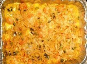 Crabmeat And Shrimp Fettuccini Recipe