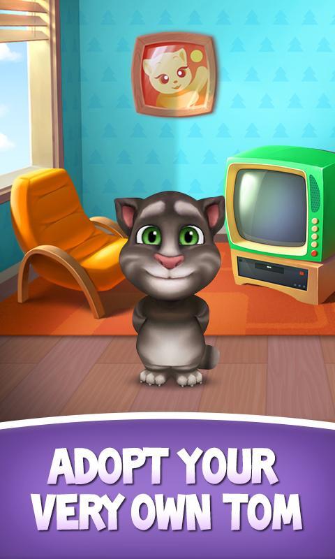 My Talking Tom- screenshot