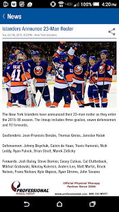 New York Islanders- screenshot thumbnail
