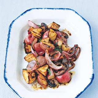Grilled Potato and Onion Salad Recipe