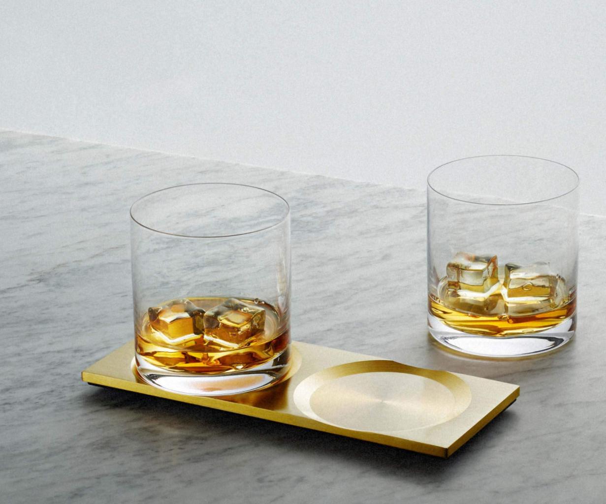 Podmetači za čaše od mesinga