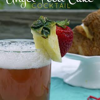 Angel Food Cake Cocktail.