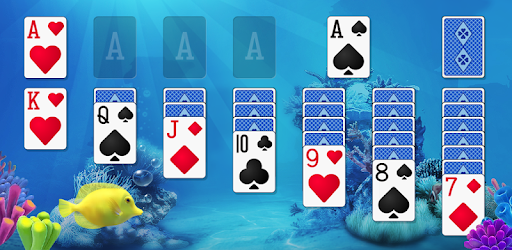 Play the Free Solitaire card game with adorable talking fish!