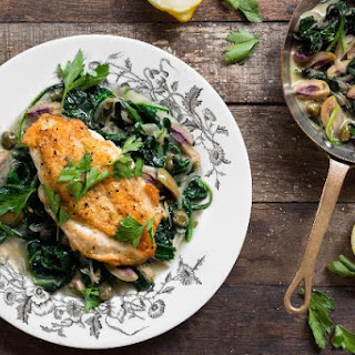 Chicken With Green Olives, Capers, And Lemon