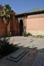 Photo: Marrakech : tombeaux saadiens
