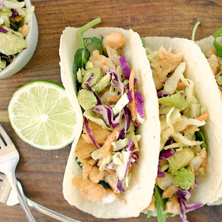 Paleo Fish Tacos and Coleslaw