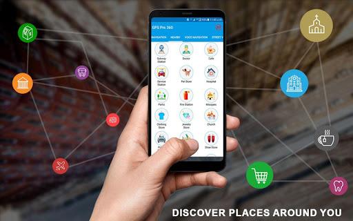 GPS Navigation: GPS Route, Live Maps & Street View 1.1.1 screenshots 7