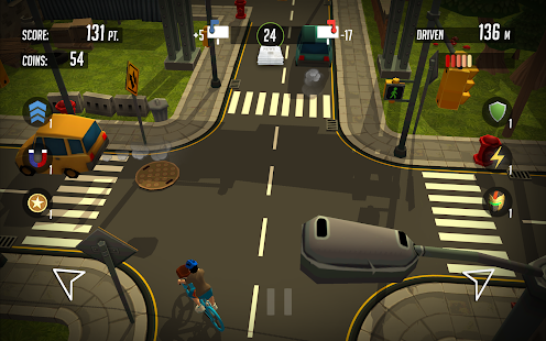 PaperBoy:Infinite bicycle ride- screenshot thumbnail