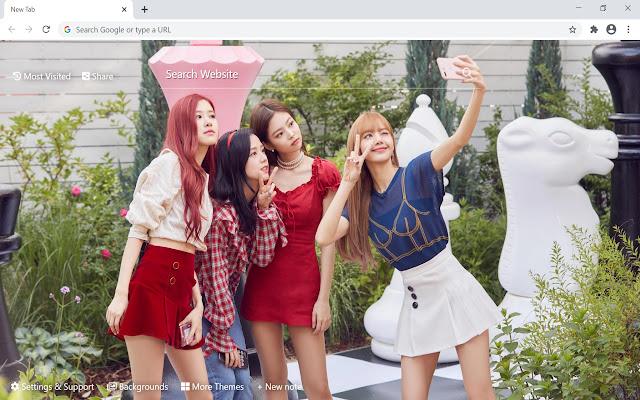 Blackpink K-Pop HD Wallpapers New Tab