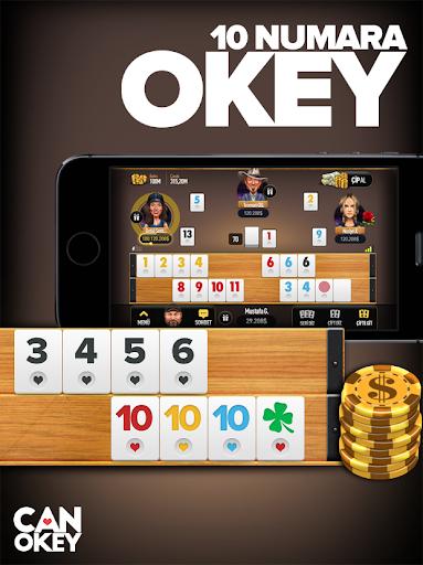 Can Okey - Online Okey  screenshots 1