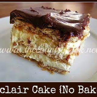 Eclair Cake.