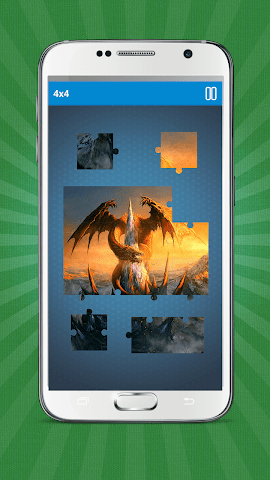 android Dragons Jigsaw Puzzle Screenshot 2