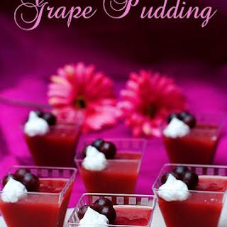 Grape Pudding Recipes.