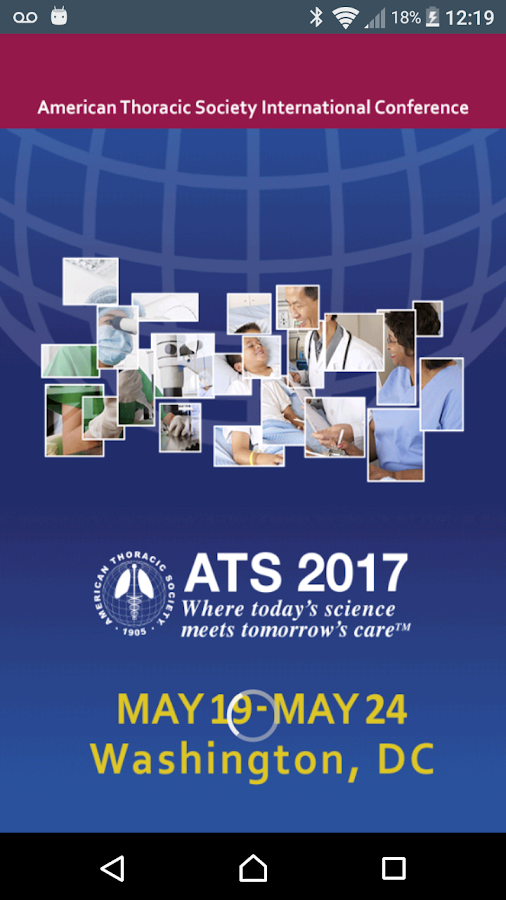 ATS International Conference- screenshot