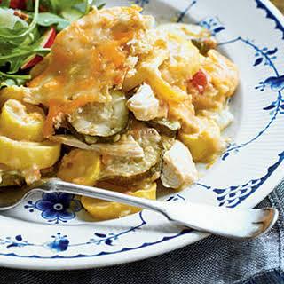 Chicken-and-Squash Casserole.