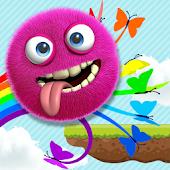 Happy Fluffy Monster Jump