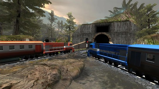 Train Racing Games 3D 2 Player 4