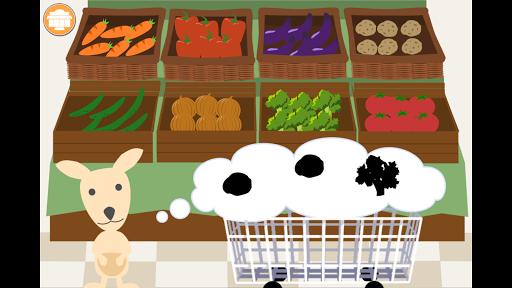 【無料幼児向け知育アプリ】わくわくショッピング