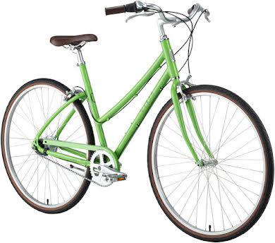 "Civia Lowry 8-Speed Internal Step-Thru Bike -26"", Aluminum, Lime Green/Gray alternate image 3"