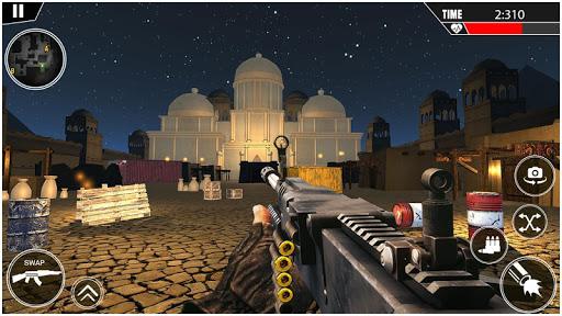 gun shoot war 3d - Jeu de tir franu00e7ais en colu00e8re  captures d'u00e9cran 2