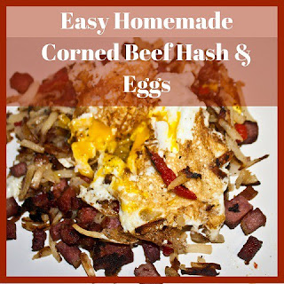 Easy Homemade Corned Beef Hash & Eggs