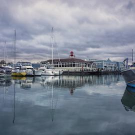 Everett Marina  by Todd Reynolds - City,  Street & Park  City Parks