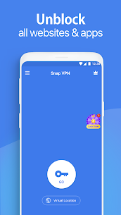 Snap VPN – Unlimited Free & Super Fast VPN Proxy 1