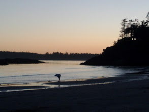 Photo: Mackenzie Beach at sunset